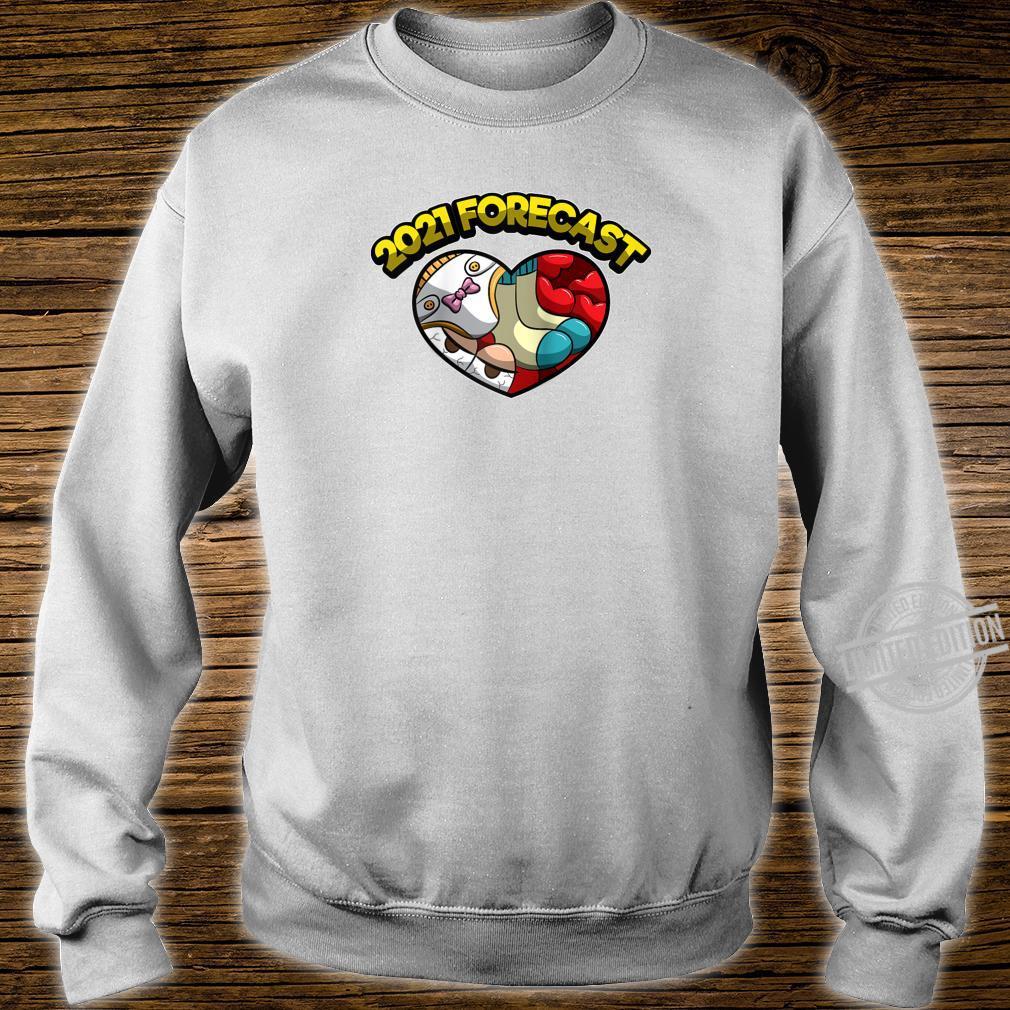 2021 Forecast I Am Pregnant Parenthood Shirt sweater