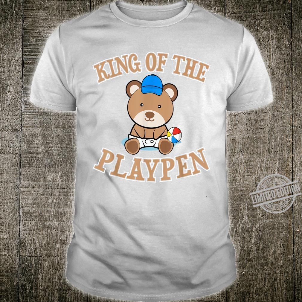 ABDL Clothing Adult Diaper King Of The Playpen Shirt