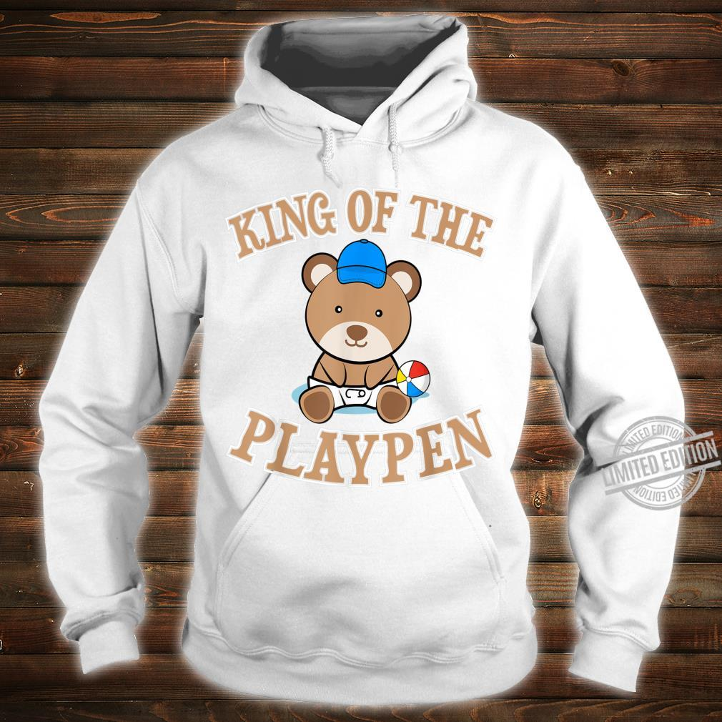 ABDL Clothing Adult Diaper King Of The Playpen Shirt hoodie