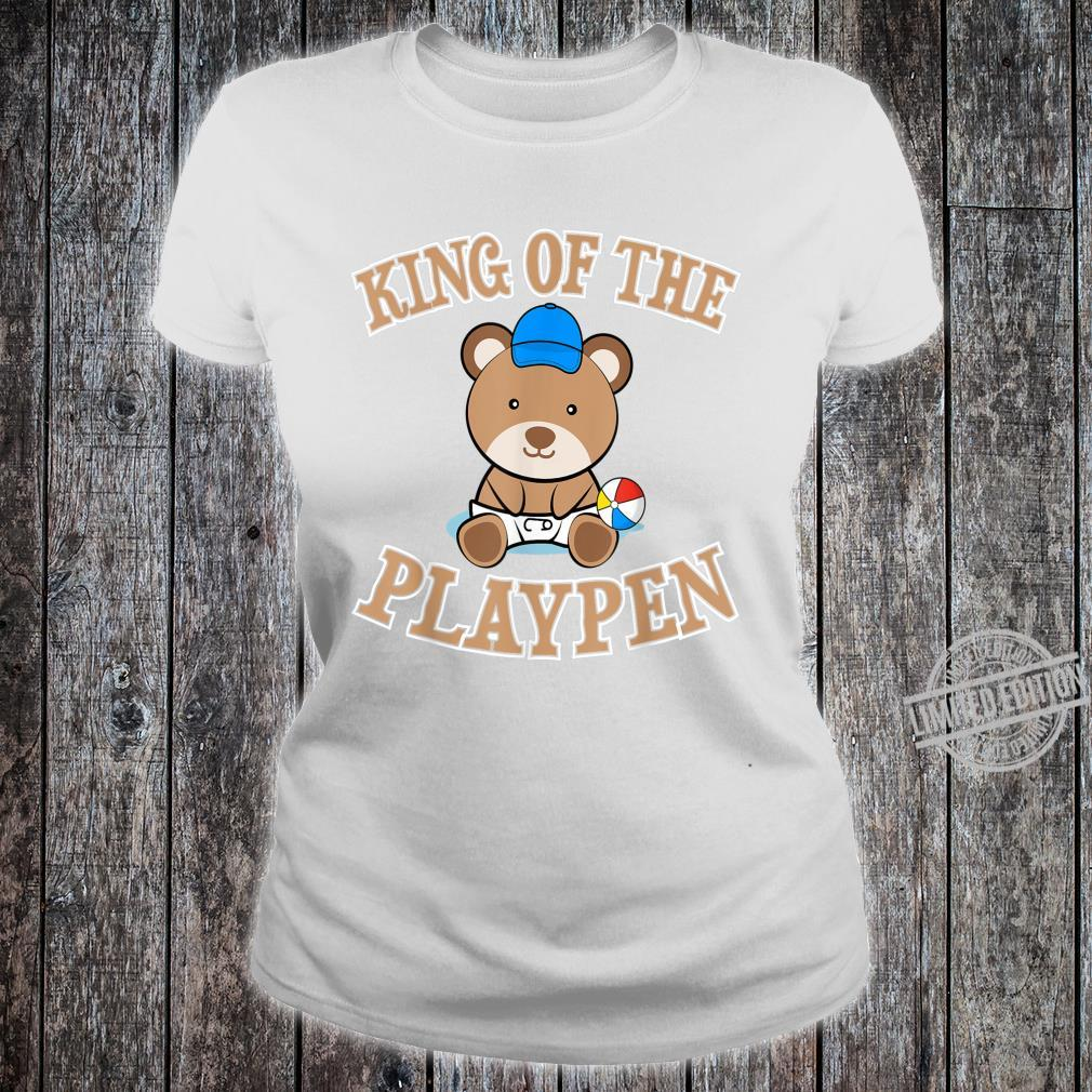 ABDL Clothing Adult Diaper King Of The Playpen Shirt ladies tee