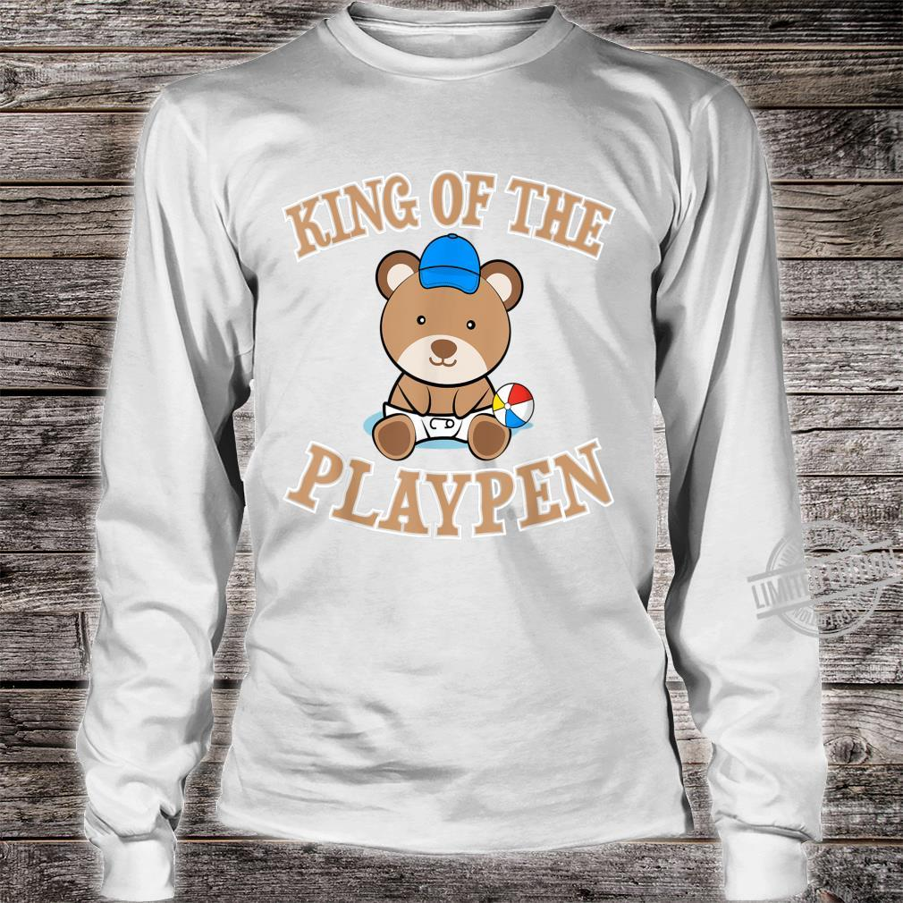 ABDL Clothing Adult Diaper King Of The Playpen Shirt long sleeved