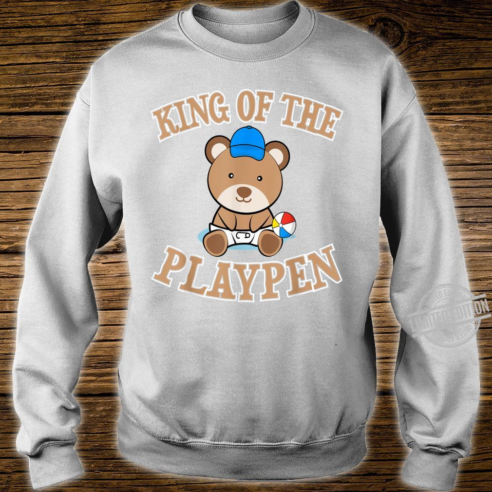 ABDL Clothing Adult Diaper King Of The Playpen Shirt sweater