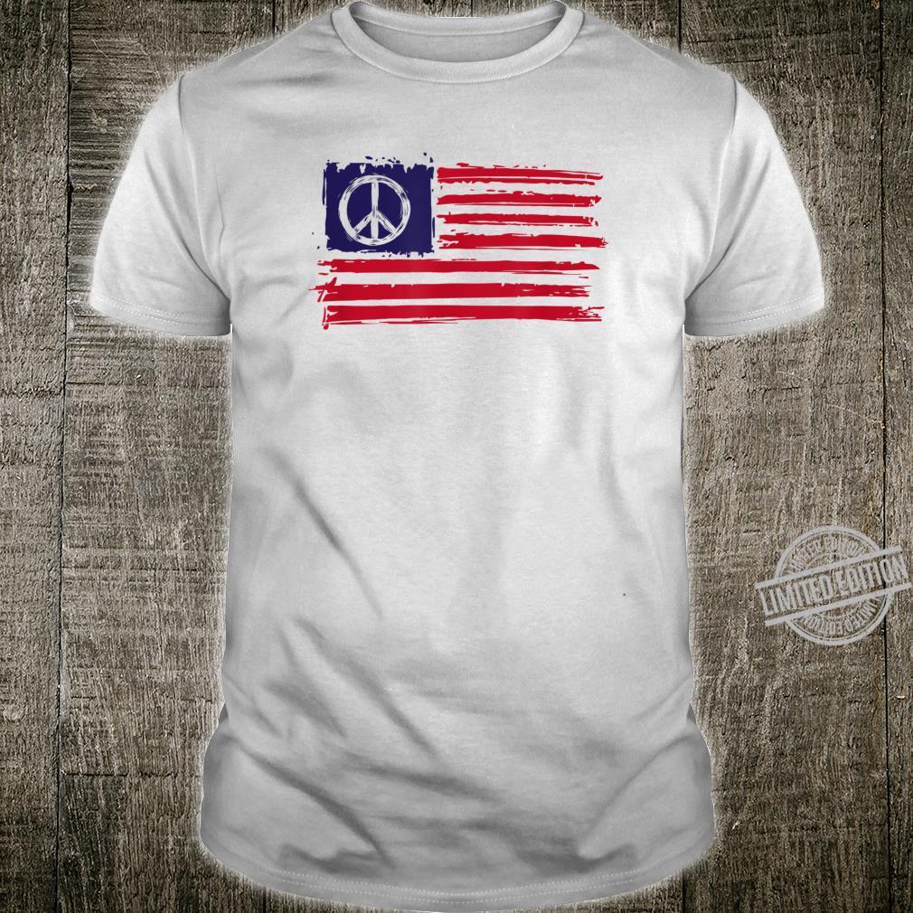 AMERICAN PEACE FLAG Shirt