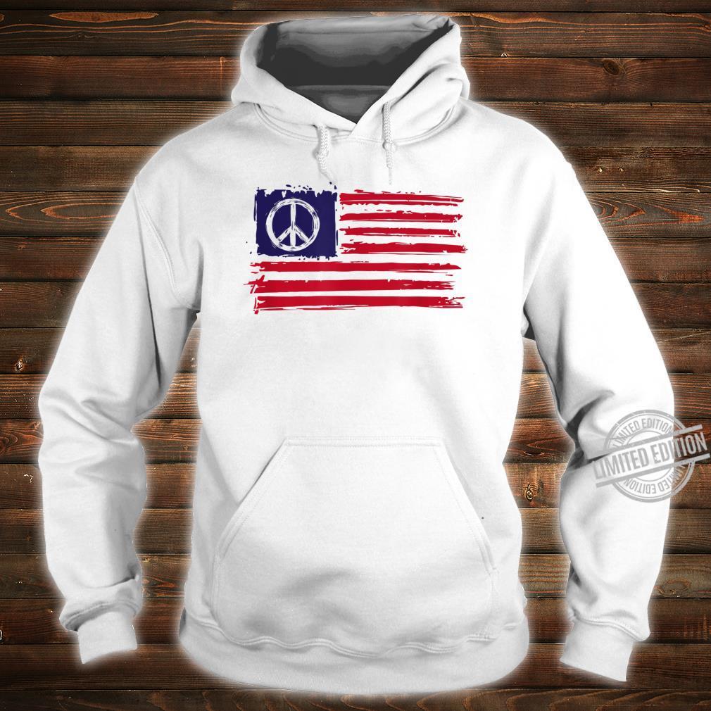 AMERICAN PEACE FLAG Shirt hoodie