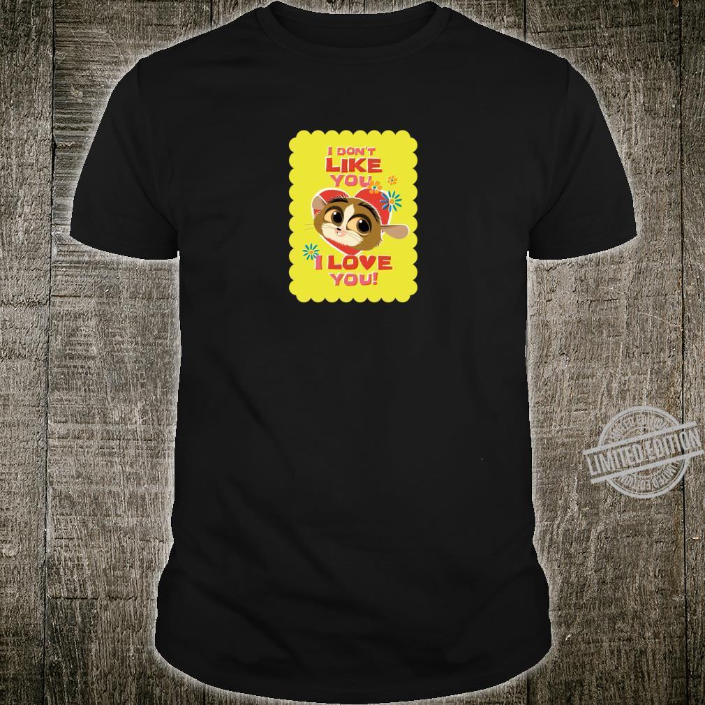 All Hail King Julien I Don't Like You, I Love You Shirt