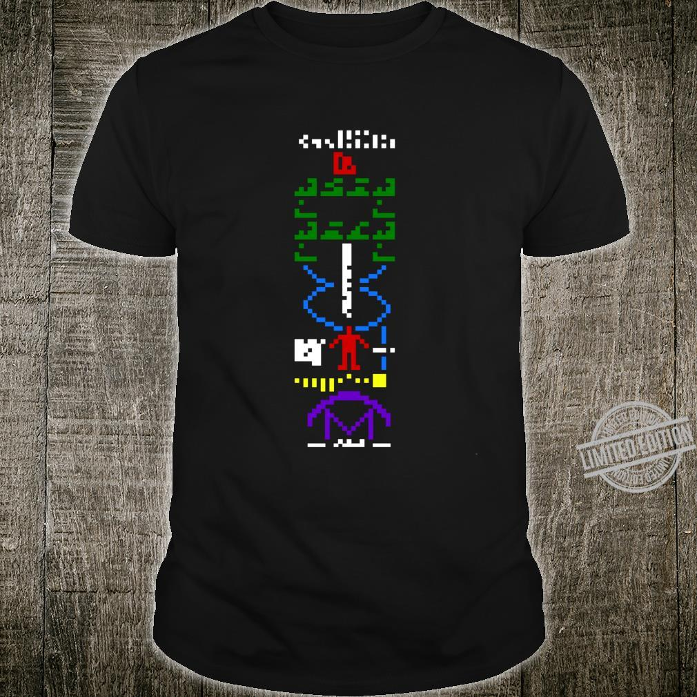 Arecibo Interstellar Message Science and Astronomy Shirt
