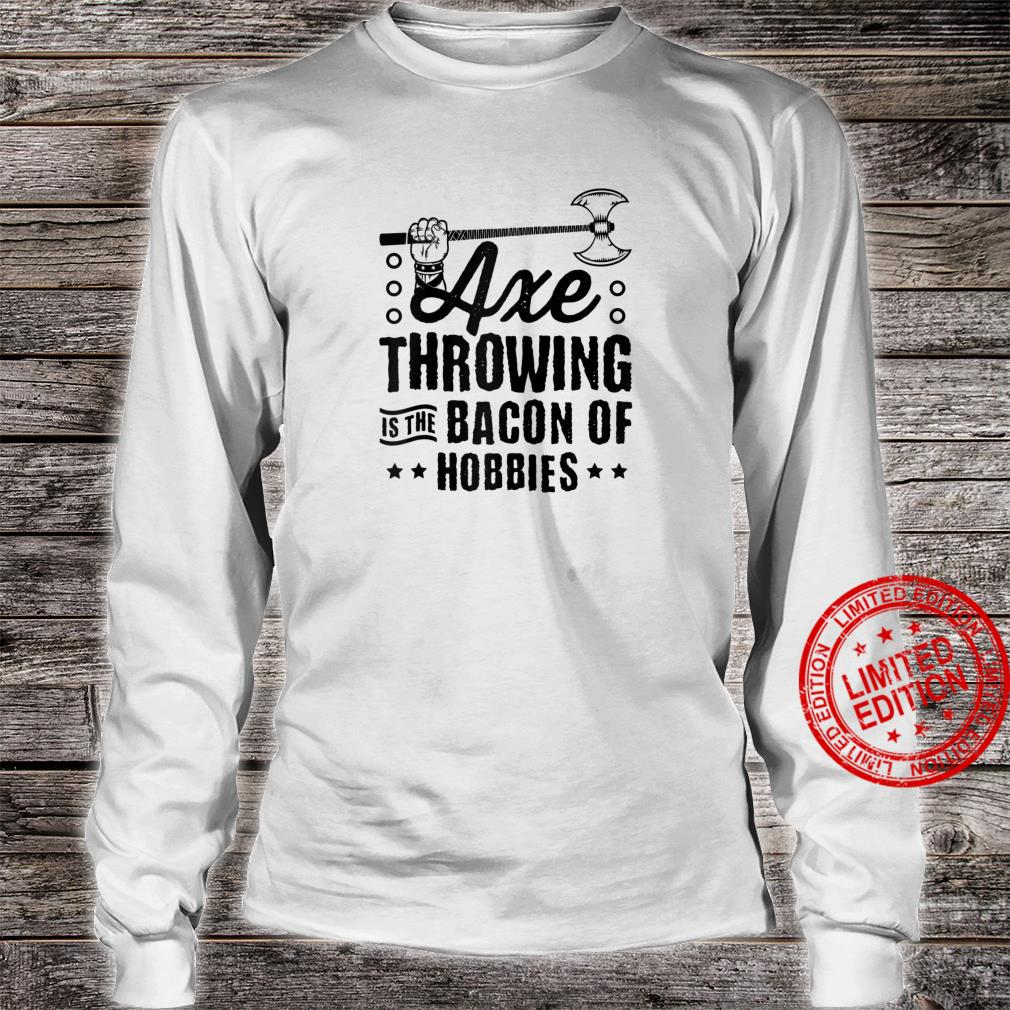 Axe Throwing Shirt Axe Throwing Set Competition Tomahawk Shirt long sleeved