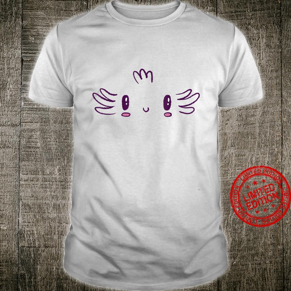 Axolotl Face Costume Halloween Shirt
