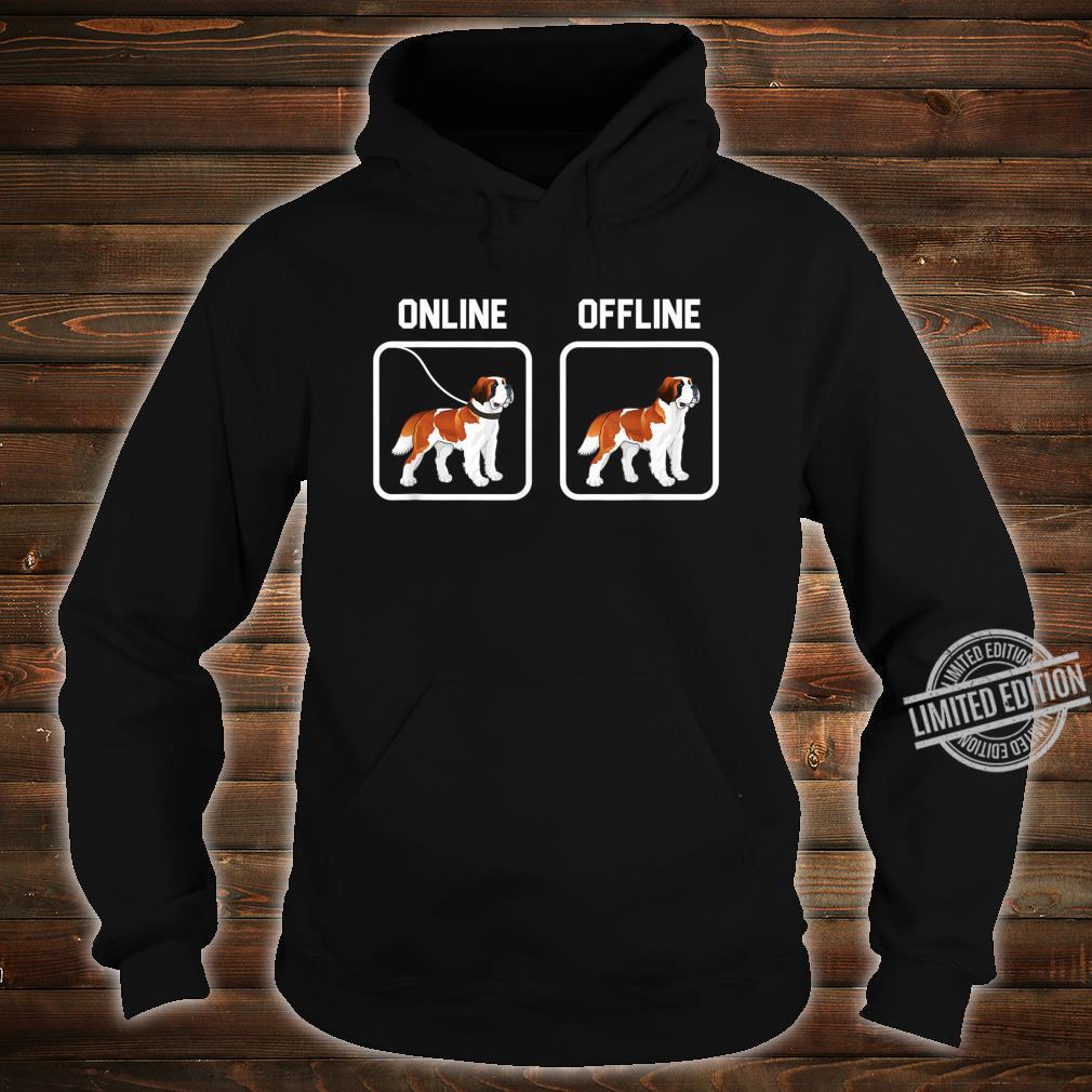 Bernhardiner Hund Hunde Hunderasse Hundeliebhaber Geschenk Shirt hoodie