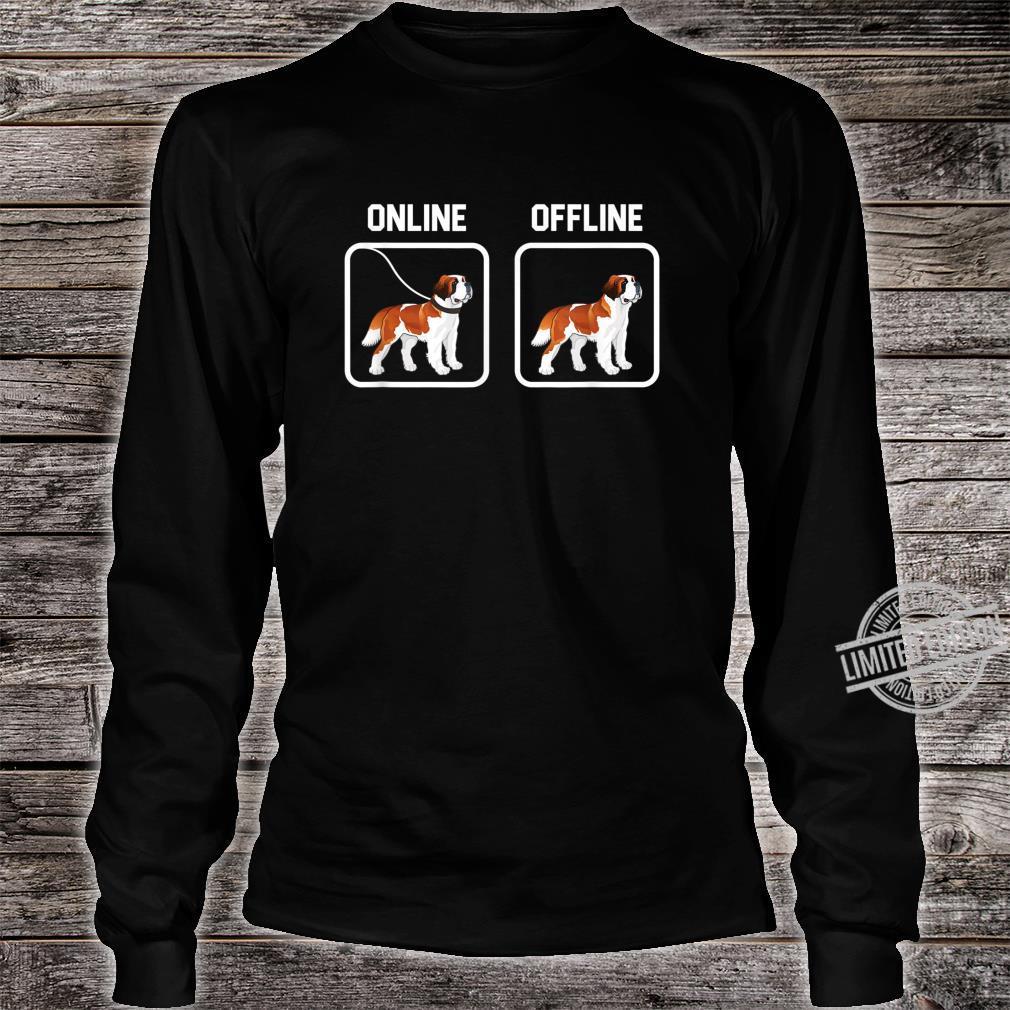 Bernhardiner Hund Hunde Hunderasse Hundeliebhaber Geschenk Shirt long sleeved