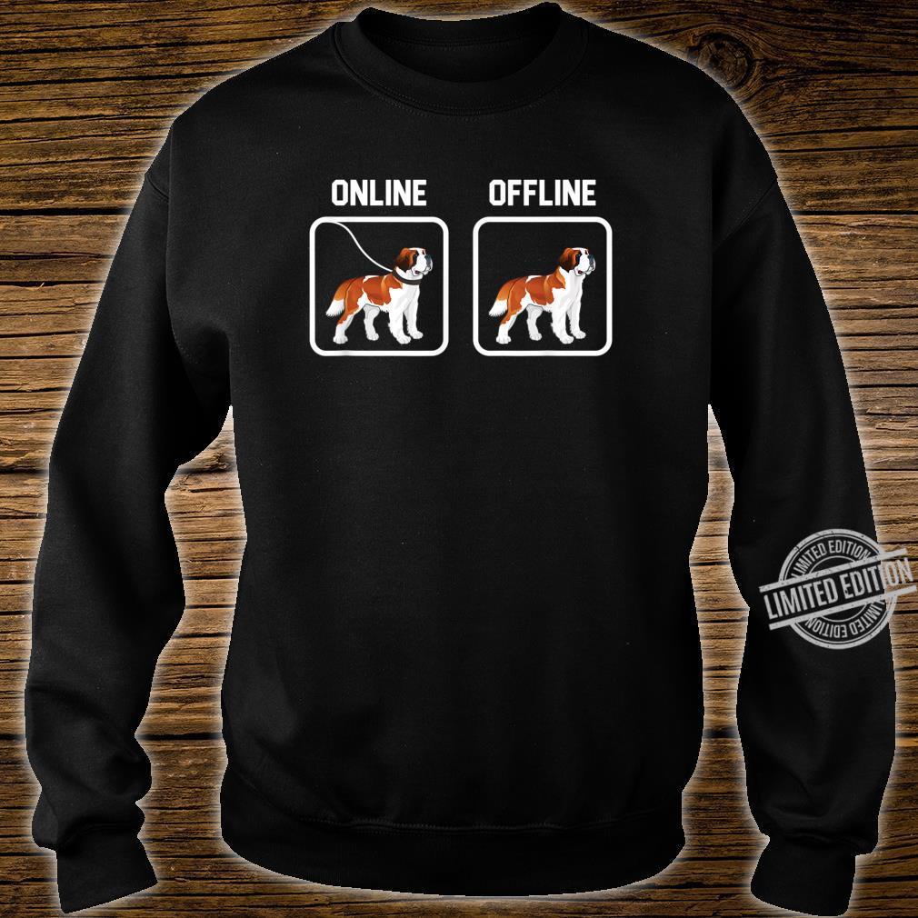 Bernhardiner Hund Hunde Hunderasse Hundeliebhaber Geschenk Shirt sweater