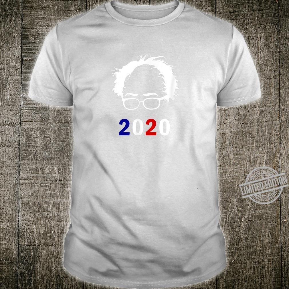 Bernie 2020 Shirt Glasses Hair Vote Bernie Sanders Shirt