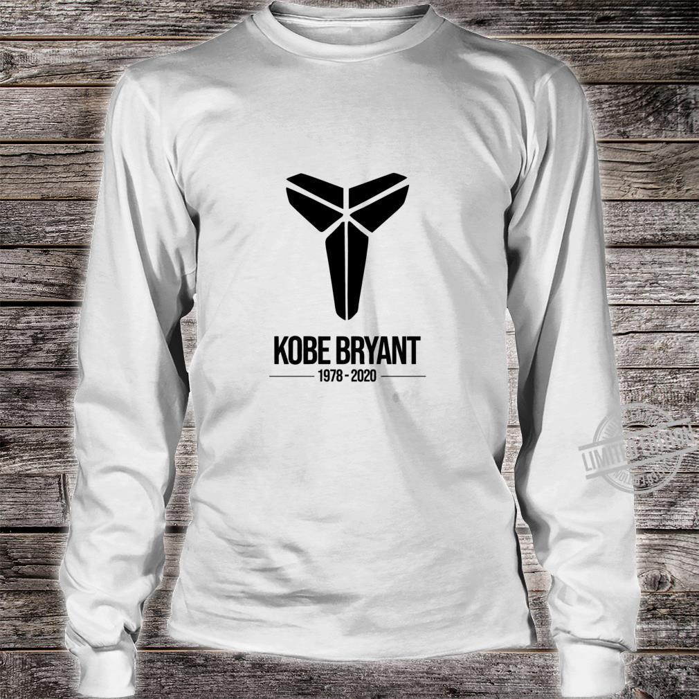 Best Seller Kobe Bryant RIP Logo Merchandise Shirt long sleeved