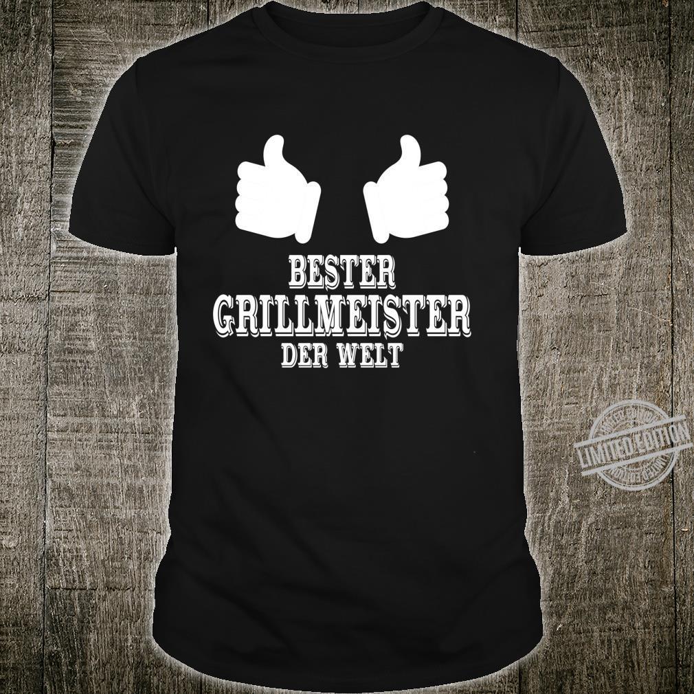 Bester Grillmeister Der Welt Aus Beruf Job Geschenk Kollege Langarmshirt Shirt