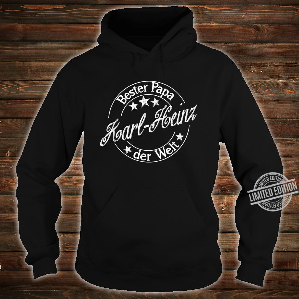 Bester Papa der Welt KarlHeinz Shirt hoodie