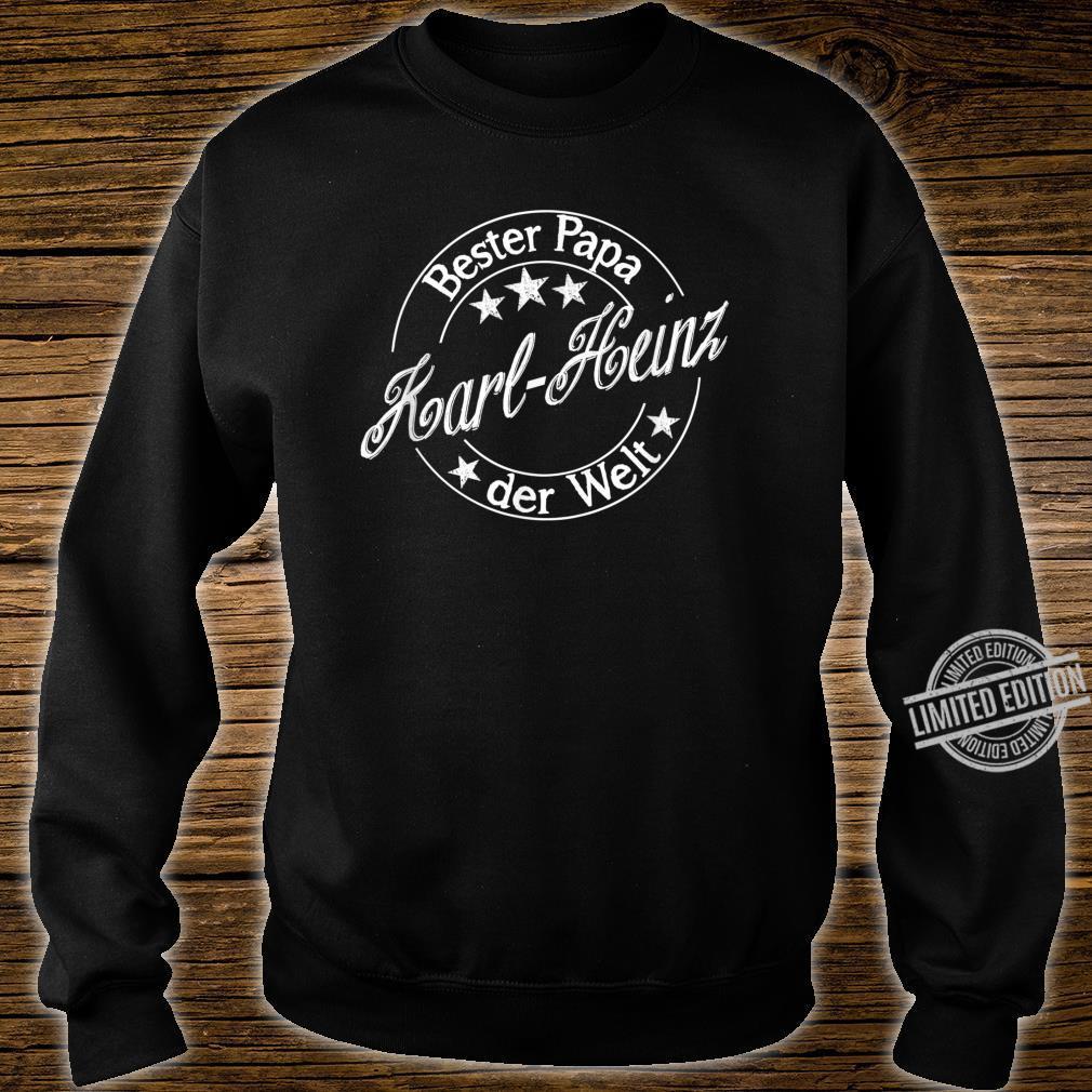 Bester Papa der Welt KarlHeinz Shirt sweater