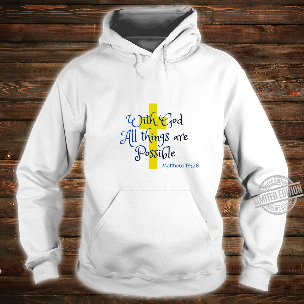 Bible Quote All things Racerback Shirt hoodie