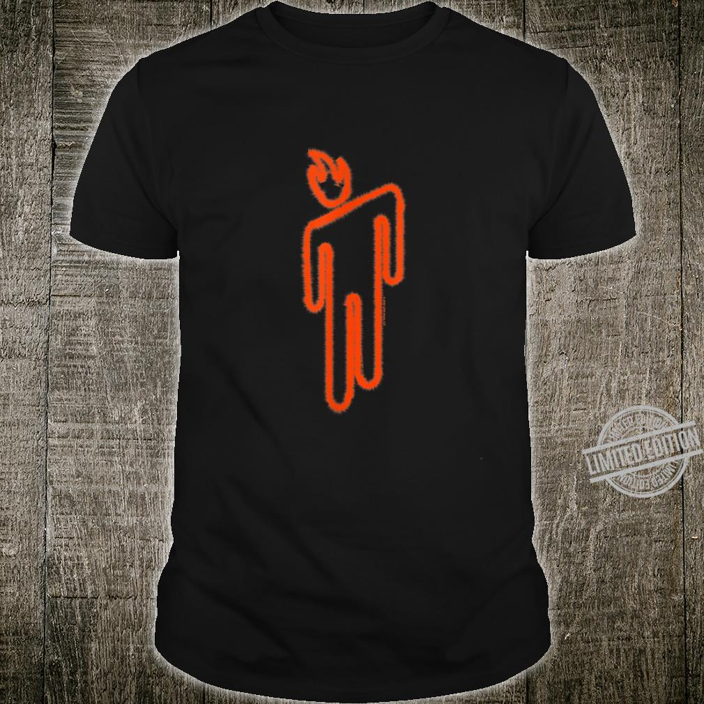 Billie Eilish Official Fire Blohsh Shirt