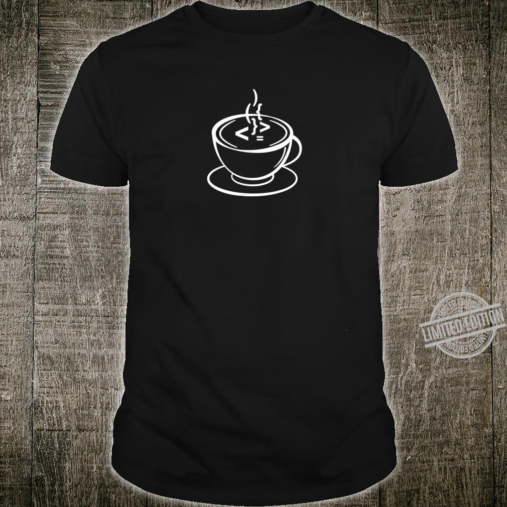 But first Code and Coffee for Software Developers Shirt