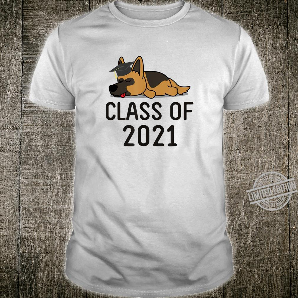 Class Of 2021 GSD Dog Graduate Last Day School Shirt