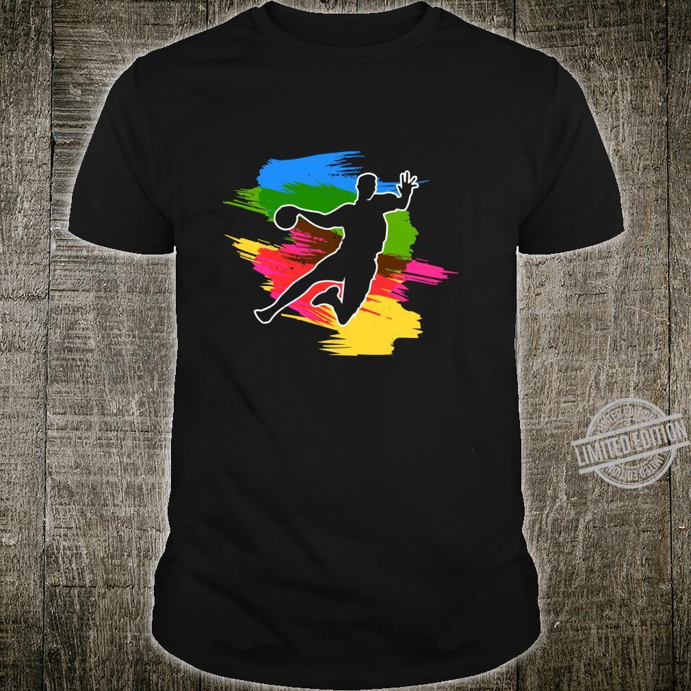 Cool handball player with resin ball handball Shirt