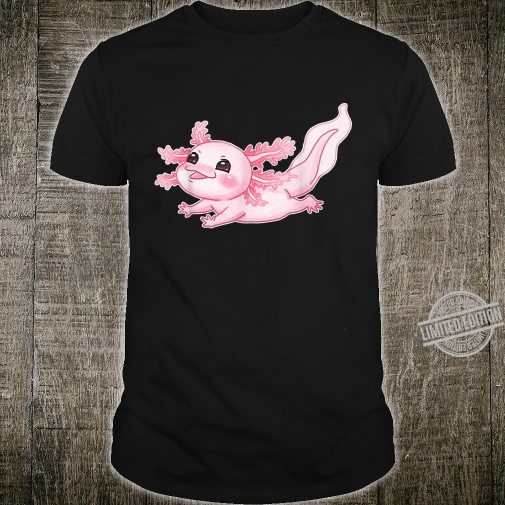 Cute Baby Axolotl Pastel Goth Cute Kawaii Animal Shirt