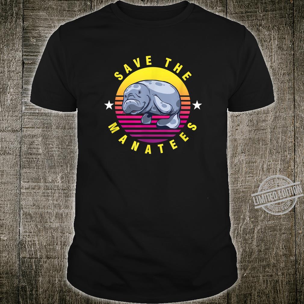 Cute Manatee Dolphin I Just Freakin Love Manatess Ok Shirt
