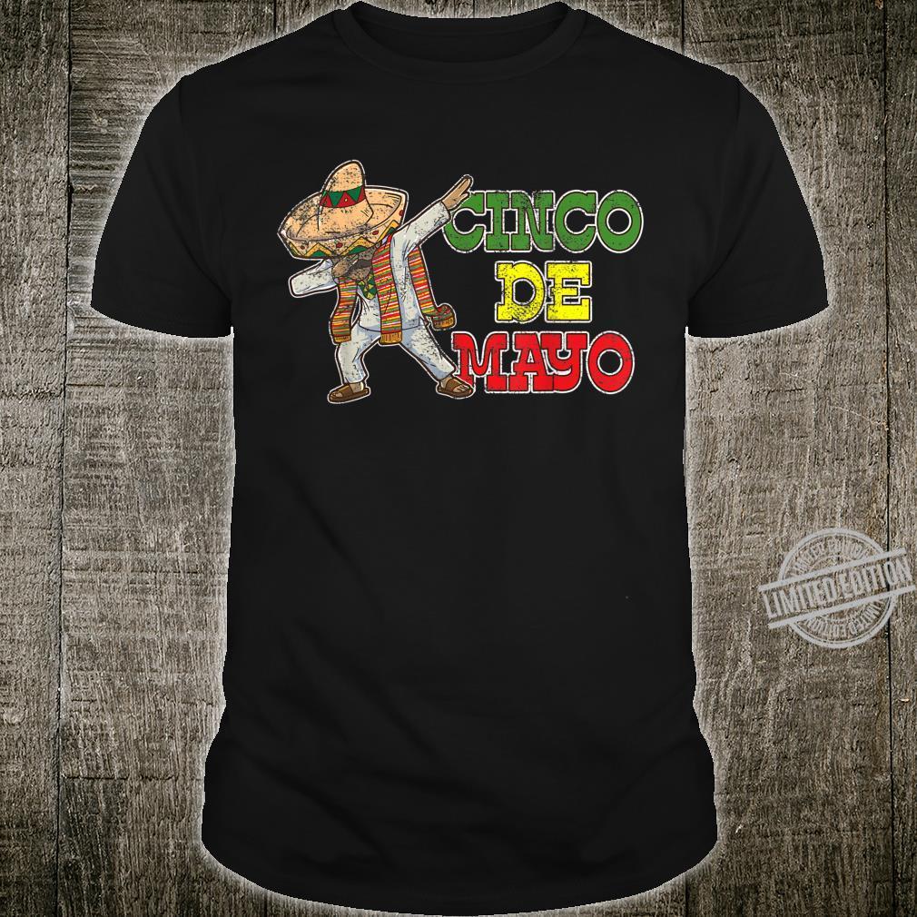 Dabbing Cinco De Mayo Mexican Vintage Shirt
