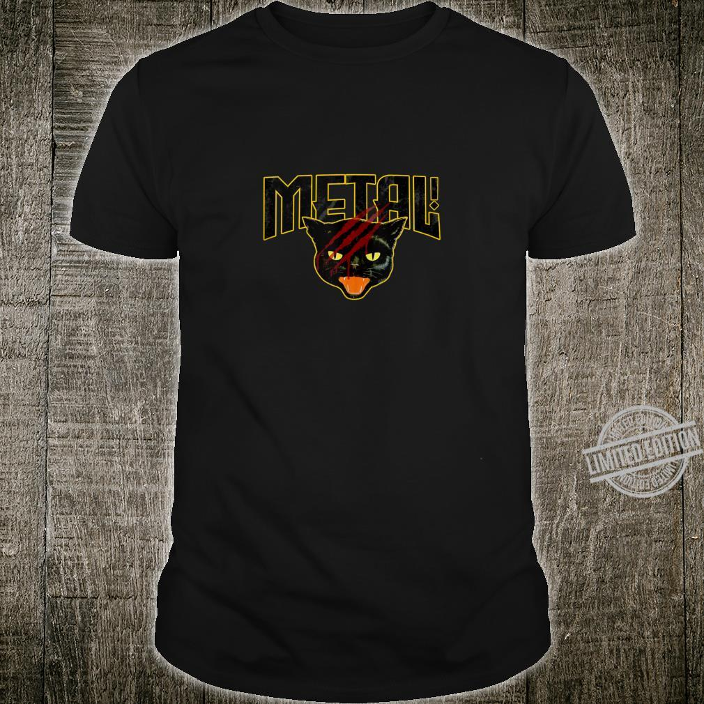 Death Metal Cat Shirt