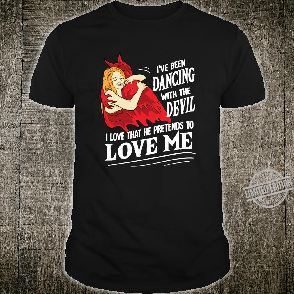 Devil Worship Satanic Hail Satan Love Me Occult Shirt