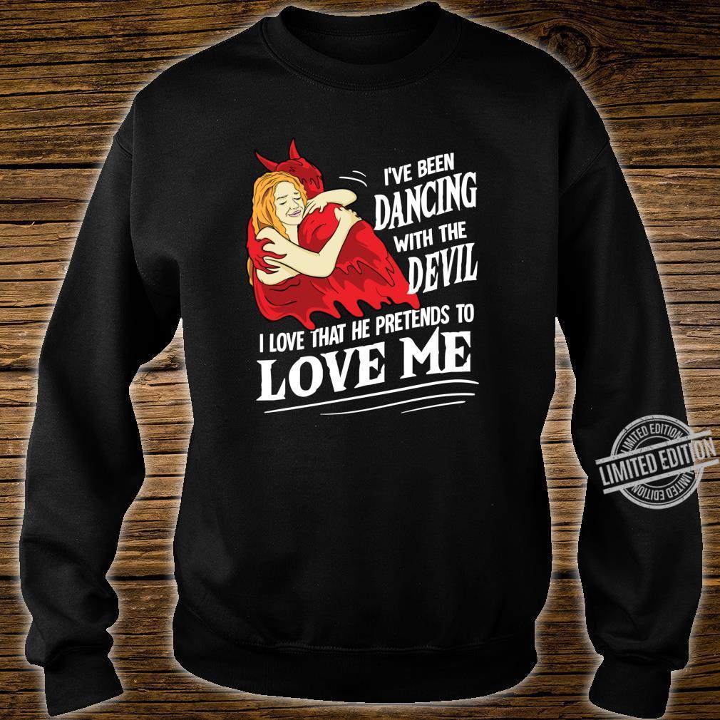 Devil Worship Satanic Hail Satan Love Me Occult Shirt sweater
