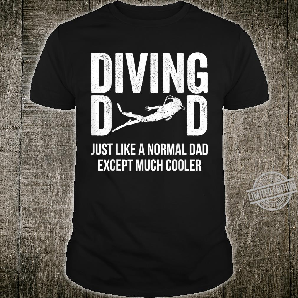 Diving Dad Scuba Diving Shirt