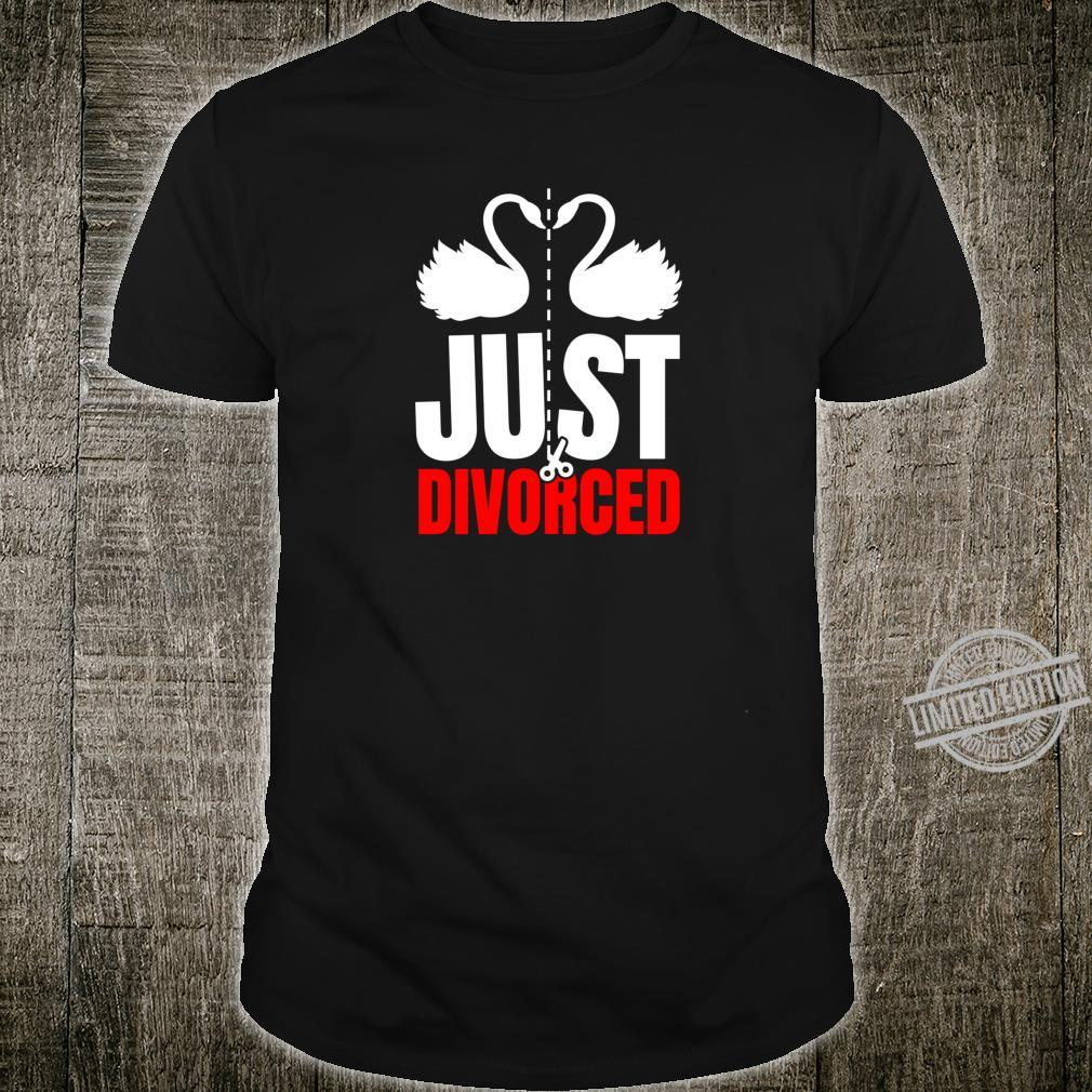 Divorce Break Up Outfit Just Divorced Cute Swans Shirt