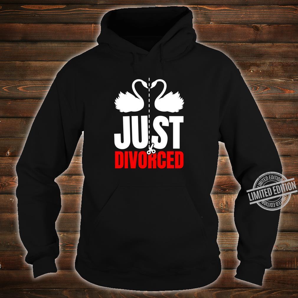 Divorce Break Up Outfit Just Divorced Cute Swans Shirt hoodie