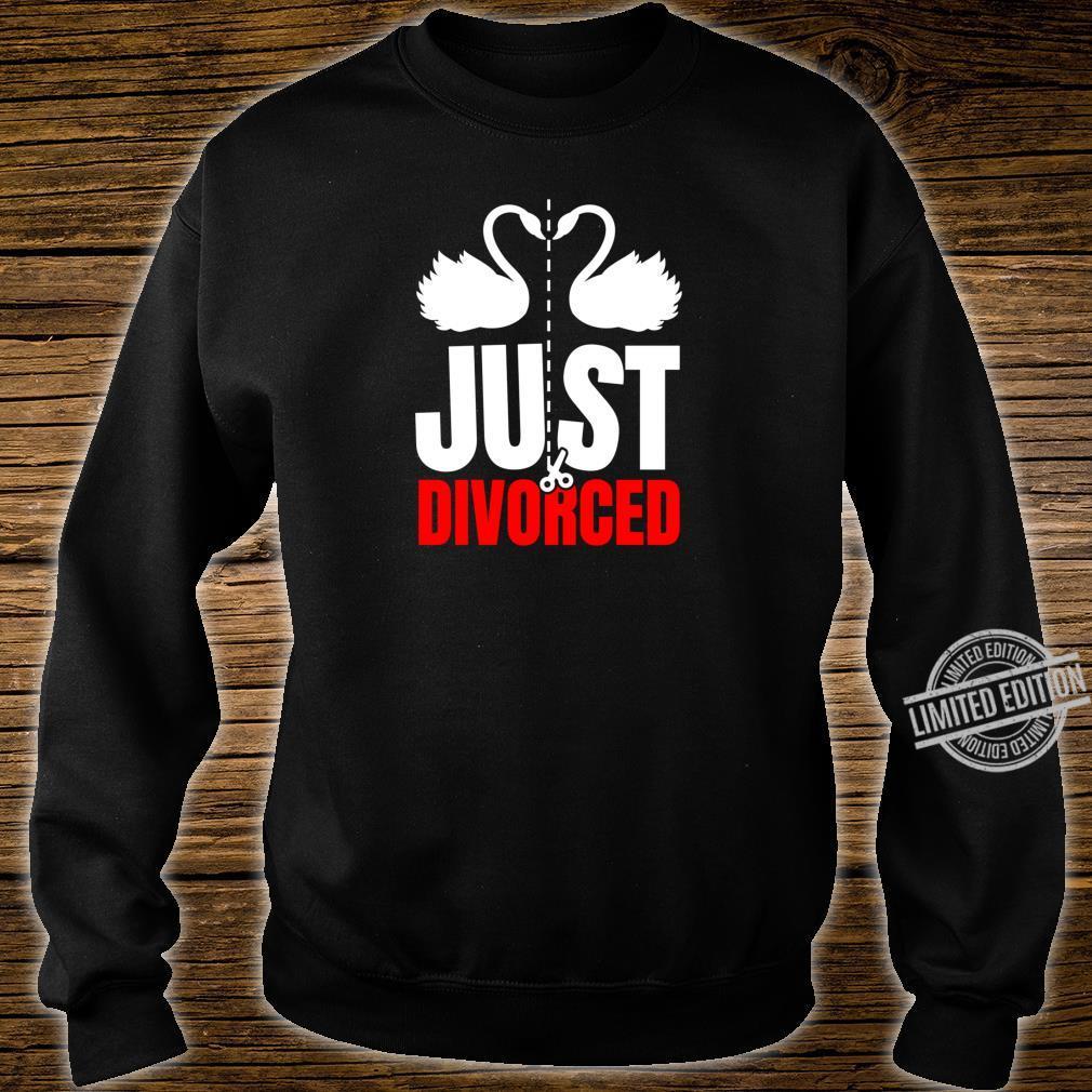 Divorce Break Up Outfit Just Divorced Cute Swans Shirt sweater