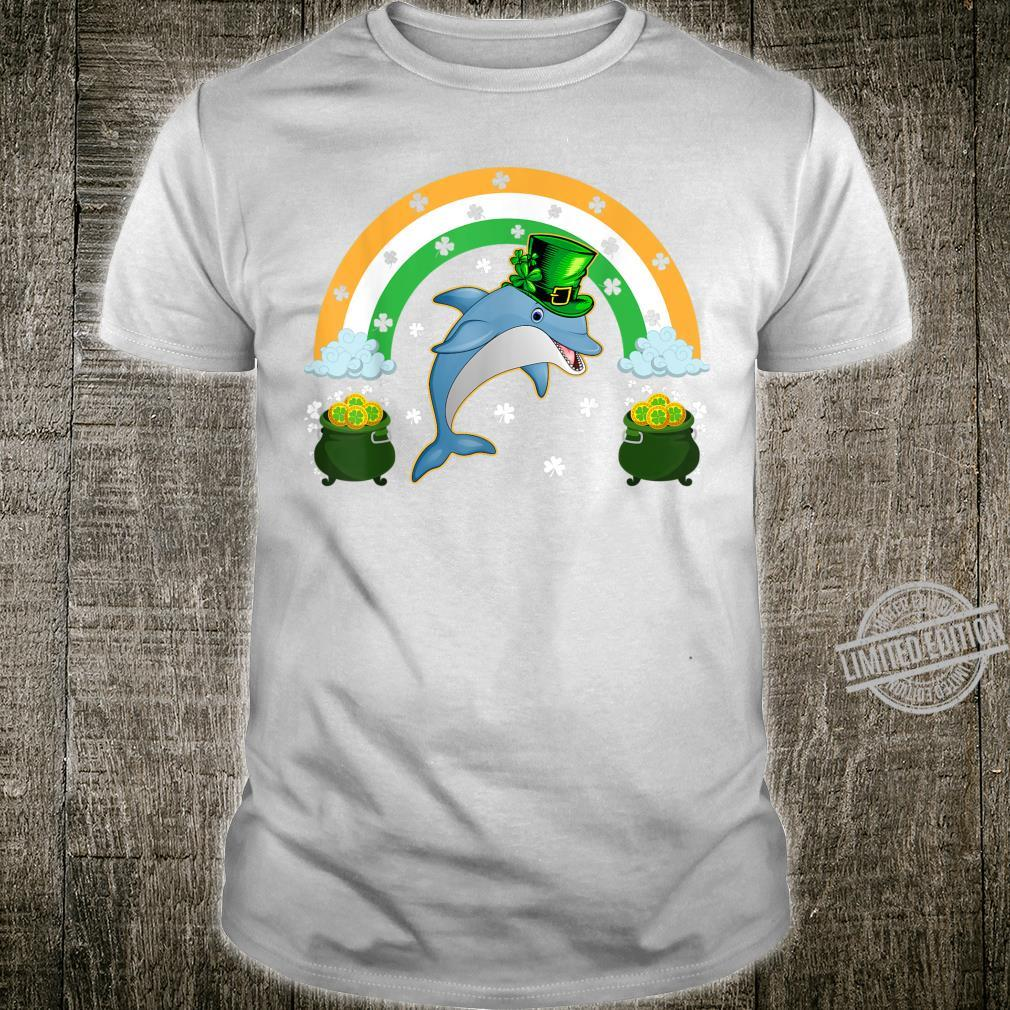Dolphins Leprechaun Lucky Dolphin St. Patrick's Day Shirt