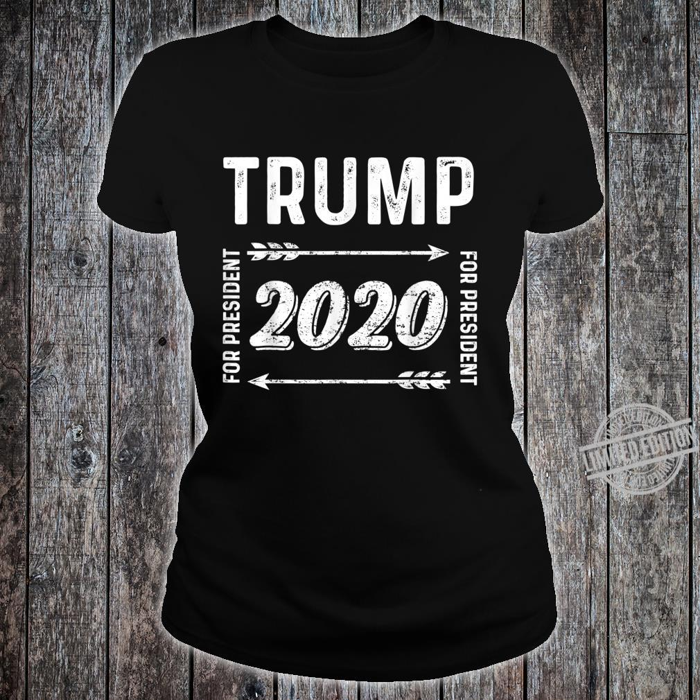 Donald Trump For President 2020 Election Shirt ladies tee