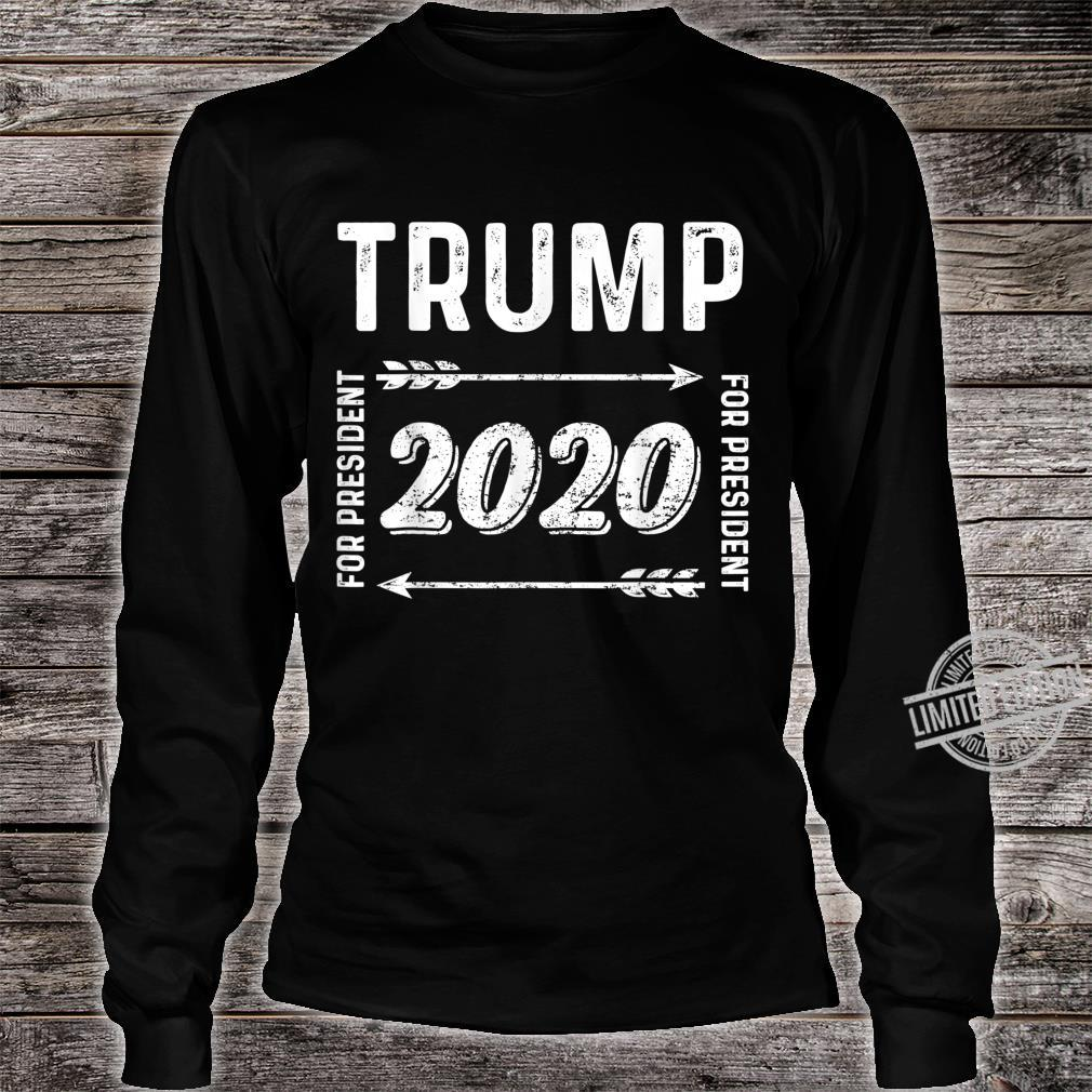 Donald Trump For President 2020 Election Shirt long sleeved