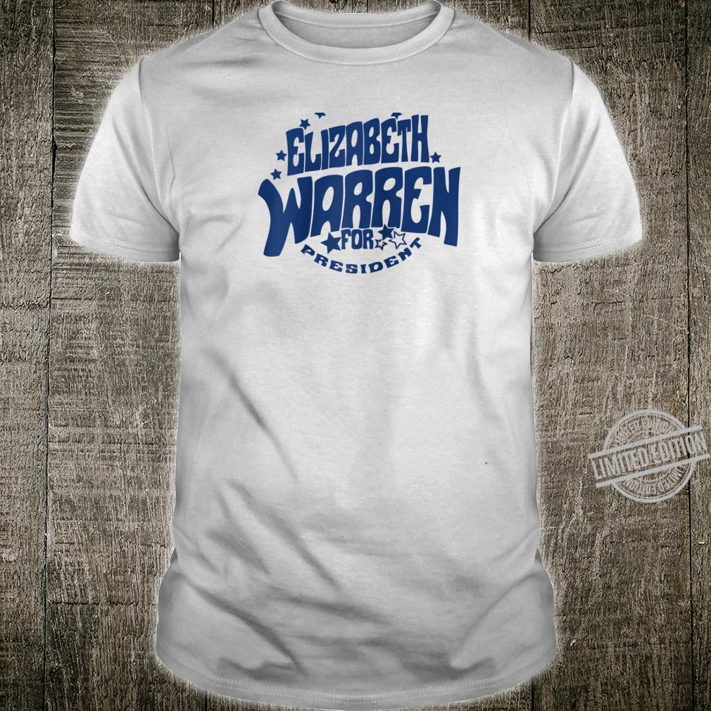 ELIZABETH WARREN FOR PRESIDENT DEMOCRAT RESIST RETRO TEE Shirt