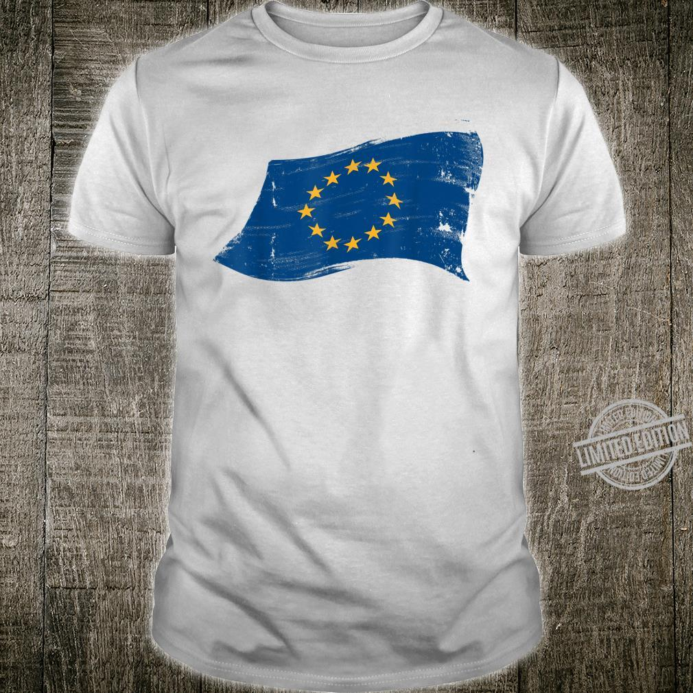 EU Flag Vintage Europe Pro European Union Anti Brexit Shirt