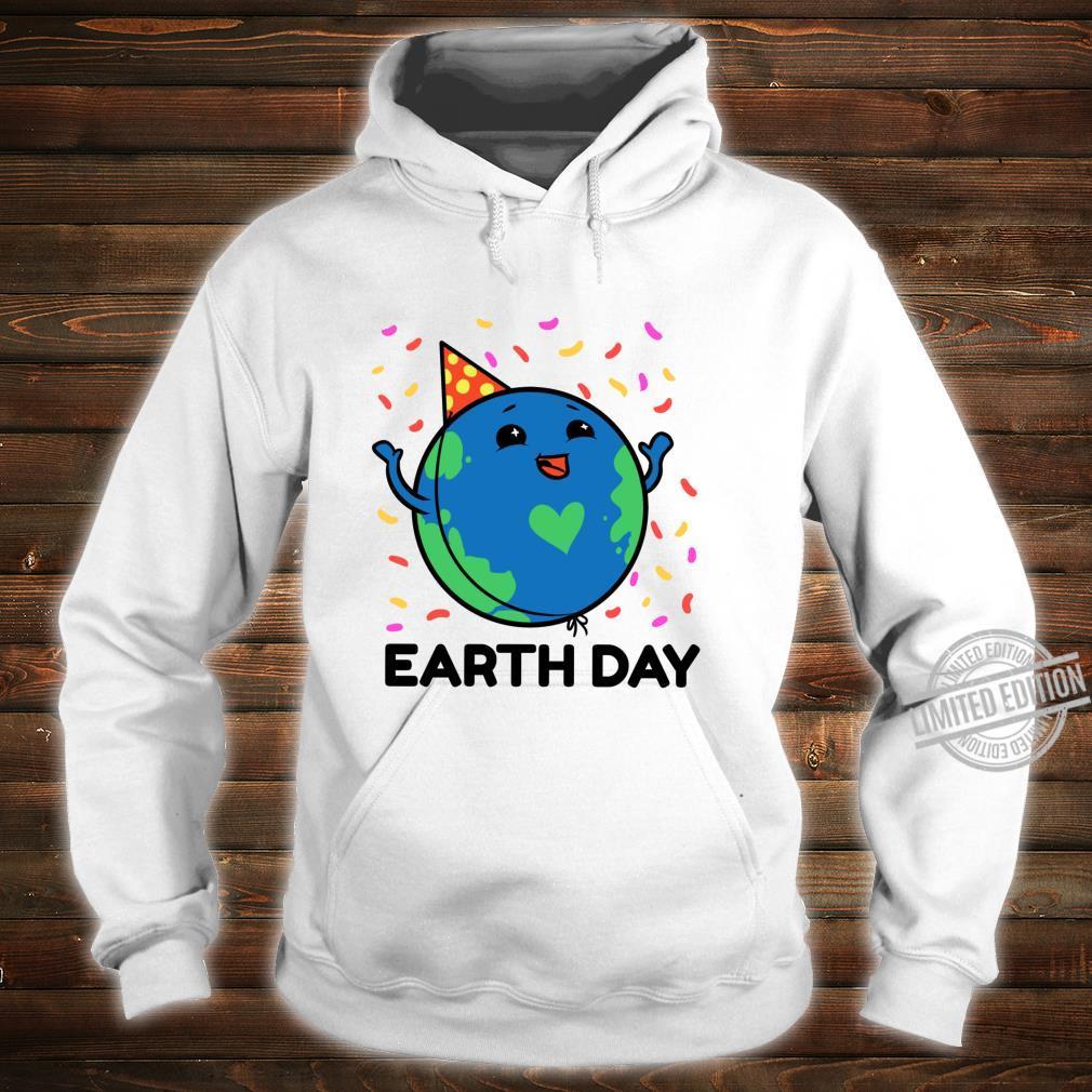 Earth Day Shirt Girls Youth Happy Earth Day 2020 Kid Shirt hoodie