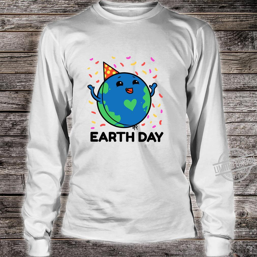 Earth Day Shirt Girls Youth Happy Earth Day 2020 Kid Shirt long sleeved
