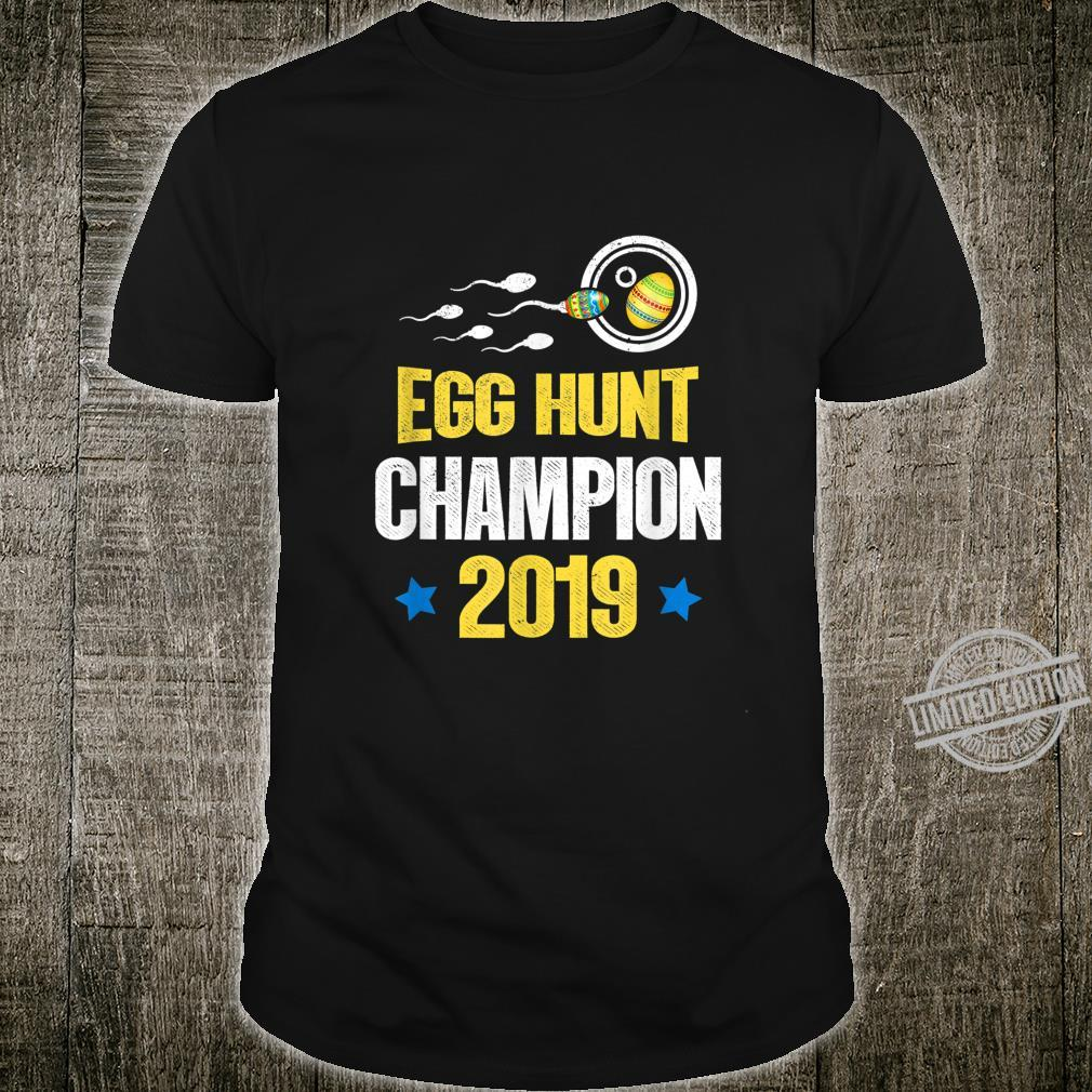 Easter Egg hunt champion 2020 Dad Pregnancy Announcement Shirt