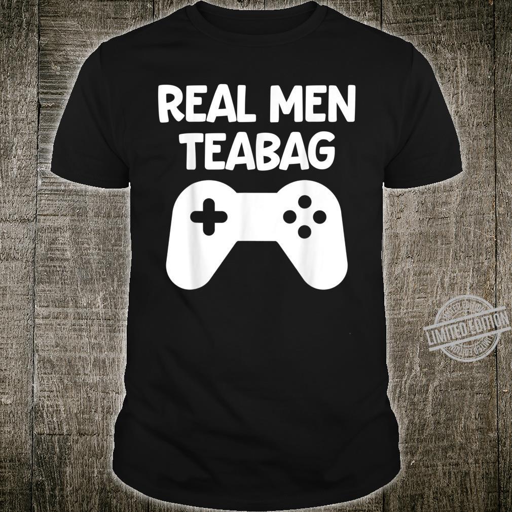 Echte Männerbeutel Video Gamer Adult Männer Geschenk Shirt