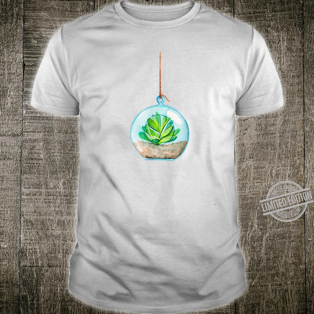 Eco Outfit Flower In A Bottle On The Rope Shirt