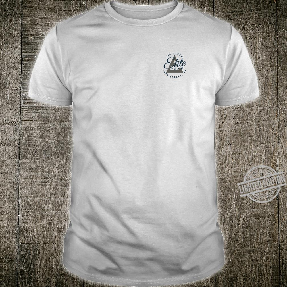 Elite Team Paso Robles NavyGrey Logo Shirt