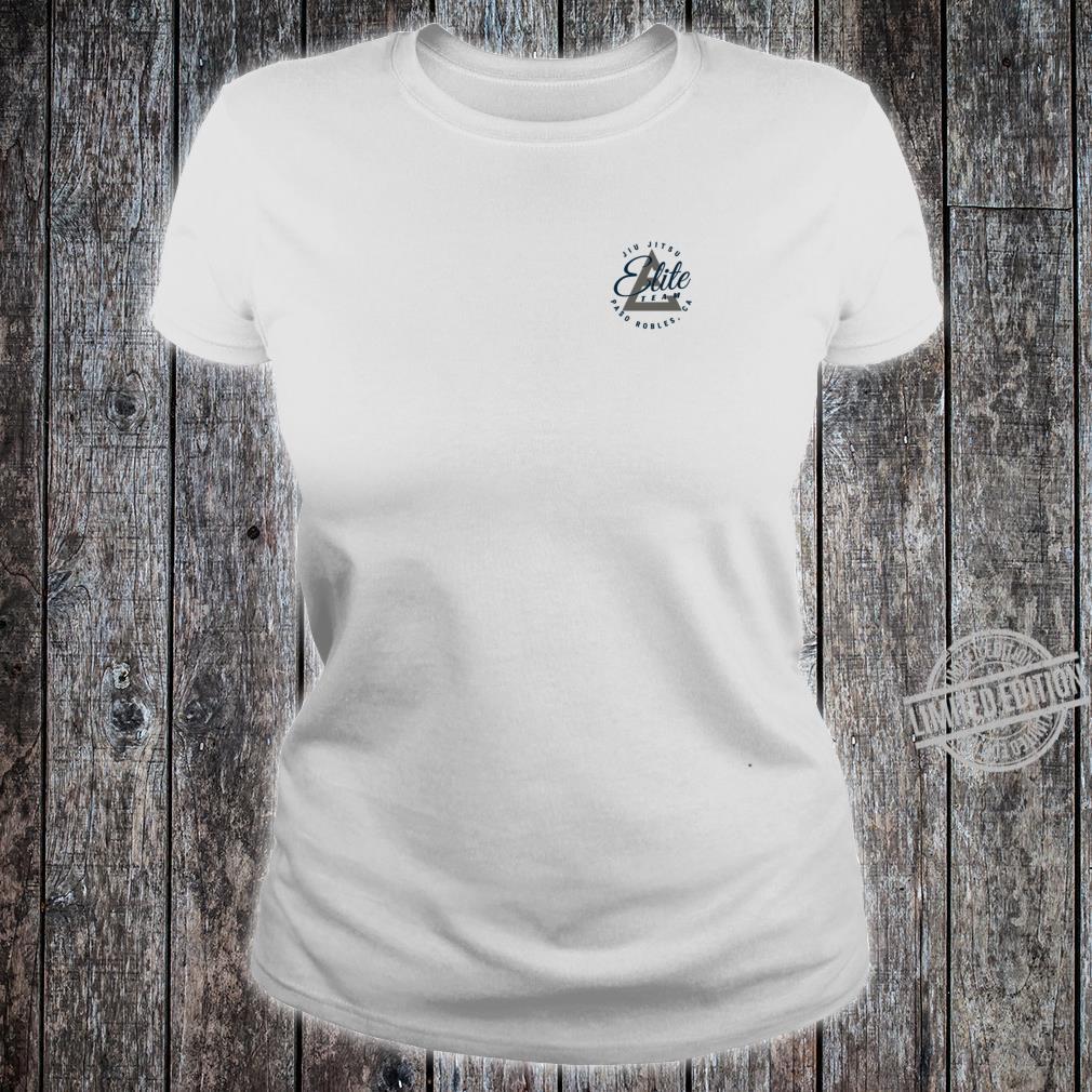 Elite Team Paso Robles NavyGrey Logo Shirt ladies tee