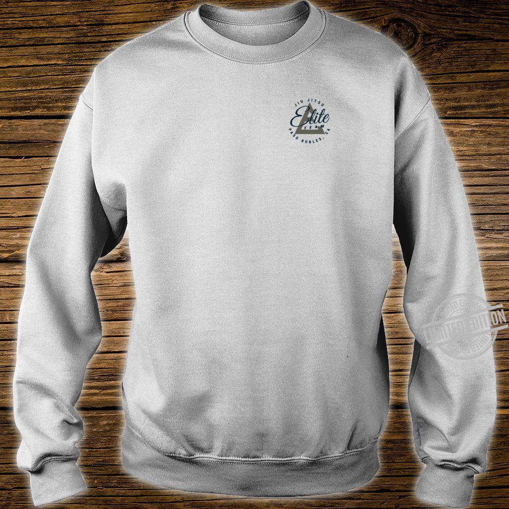 Elite Team Paso Robles NavyGrey Logo Shirt sweater
