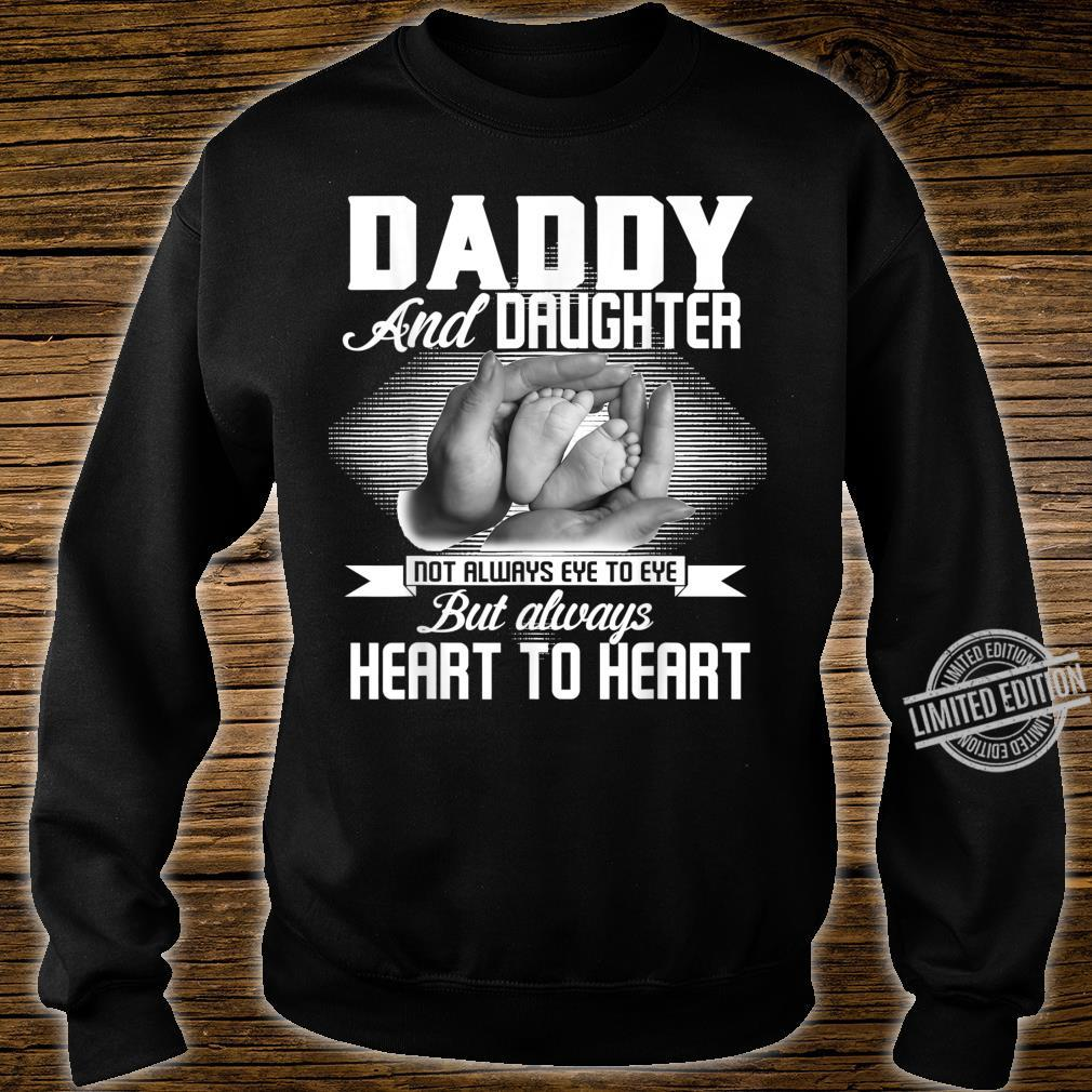 Family Daddy And Daughter Heart To Heart Shirt sweater