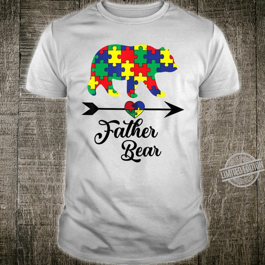 Father Bear Puzzle Autism Awareness Dad Shirt